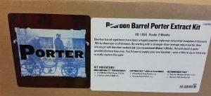 Bourbon Barrel Braggot ingredients.